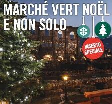 Mercatini di Natale a Aosta Marché Vert Noël Foto